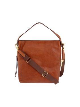 afef98846190e0 Product Image Fossil Maya Ladies Large Leather Hobo Handbag ZB6980200