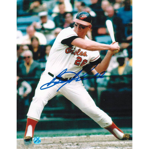MLB - Boog Powell Baltimore Orioles Autographed 8x10 Photograph - Swinging-