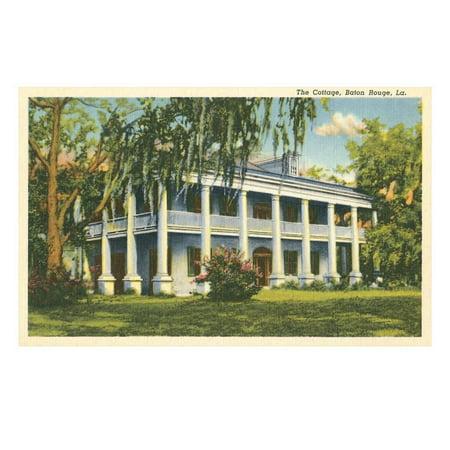Antebellum Mansion, Baton Rouge, Louisiana Print Wall - Party City Baton Rouge