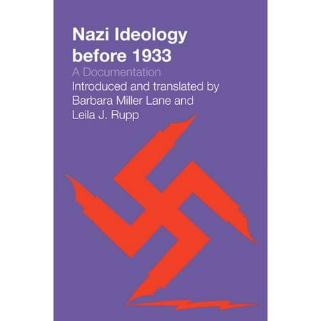 Nazi Ideology Before 1933: A Documentation