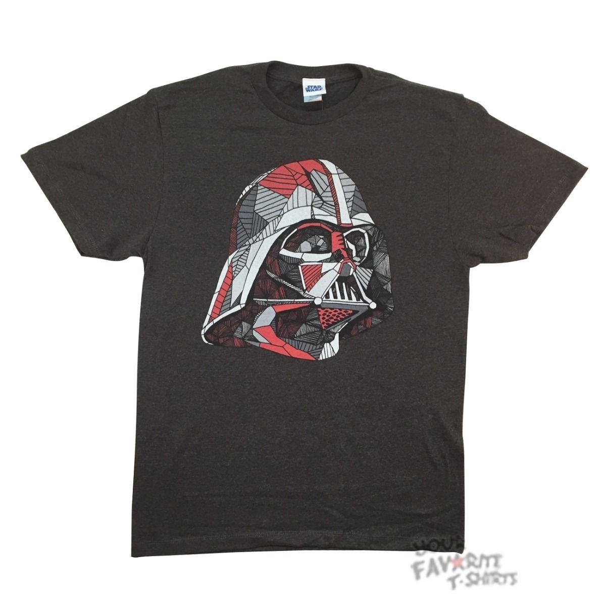 Star Wars Movie Darth Vader Line Vader Adult T-Shirt
