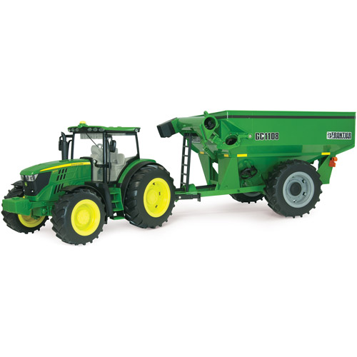 TOMY ERTL Big Farm 6210R Tractor with Grain Cart by TOMY