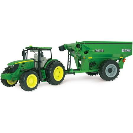 Tomy Ertl Big Farm 6210R Tractor With Grain Cart