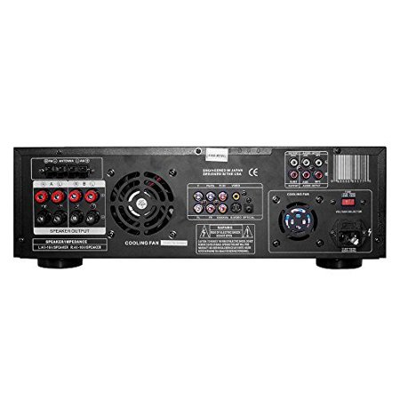 Pyle Home Theater Preamplifier Receiver, Audio/Video System, CD/DVD Player, AM/FM Radio, MP3/USB Reader, 3000 -
