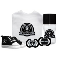 3a9a69f73 Product Image NFL Oakland Raiders 5-Piece Baby Gift Set
