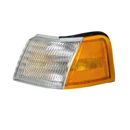 NEW DRIVER SIDE TURN SIGNAL LIGHT FITS MERCURY COUGAR 1989-94 1995 FO2520113 E9SZ 13201 A E9SZ-13201-A E9SZ13201A