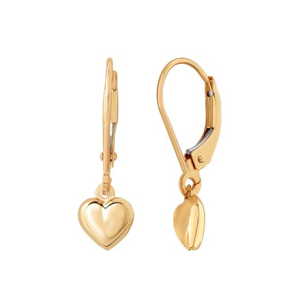 Simply Gold⢠10kt Yellow Gold Heart Earrings
