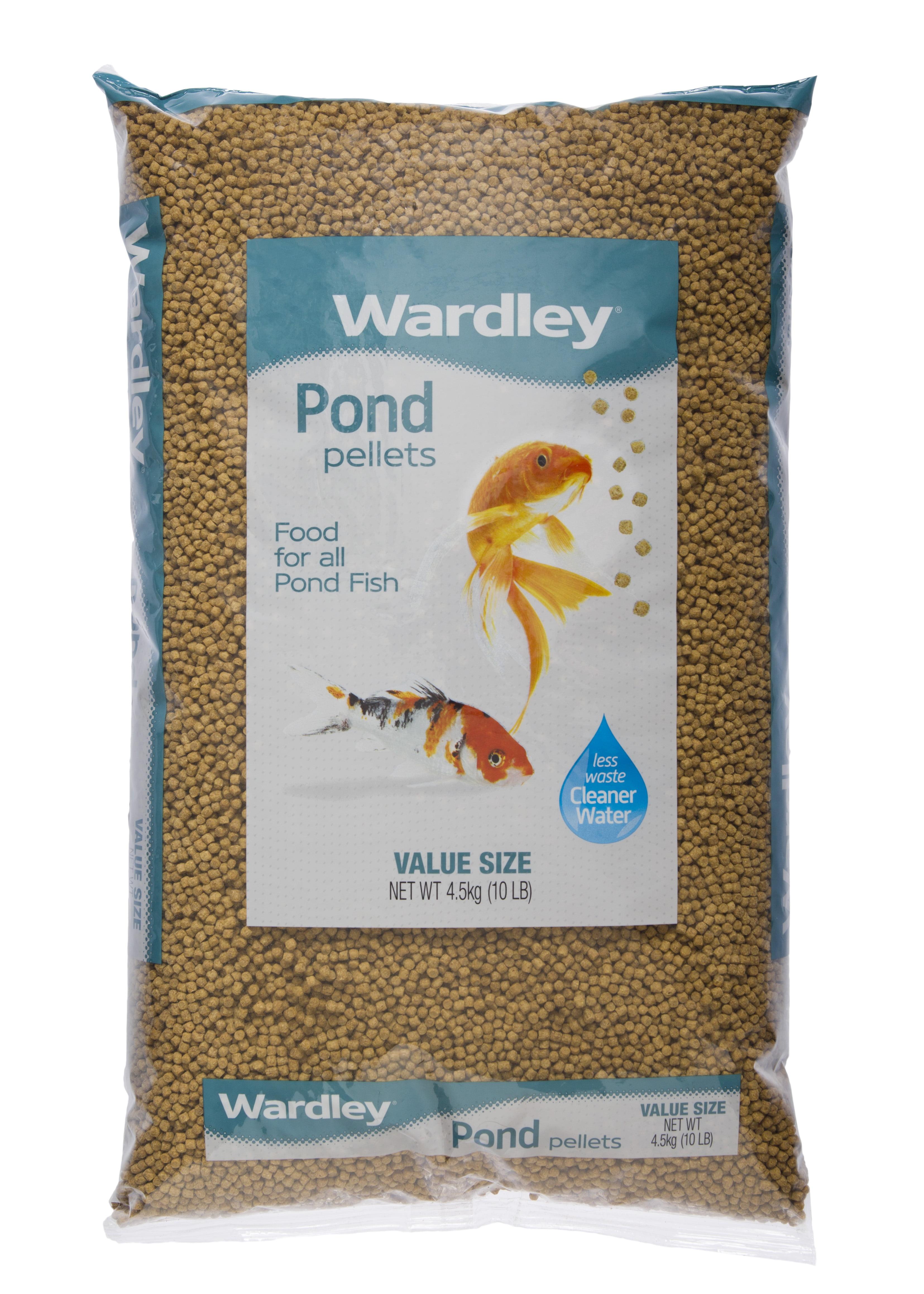 wardley pond pellets koi pond fish food 10lbs walmart com