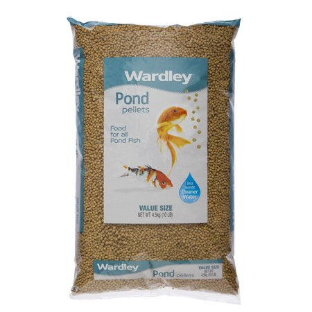 Koi Fish Feed (Wardley Pond Pellets Koi & Pond Fish Food,)