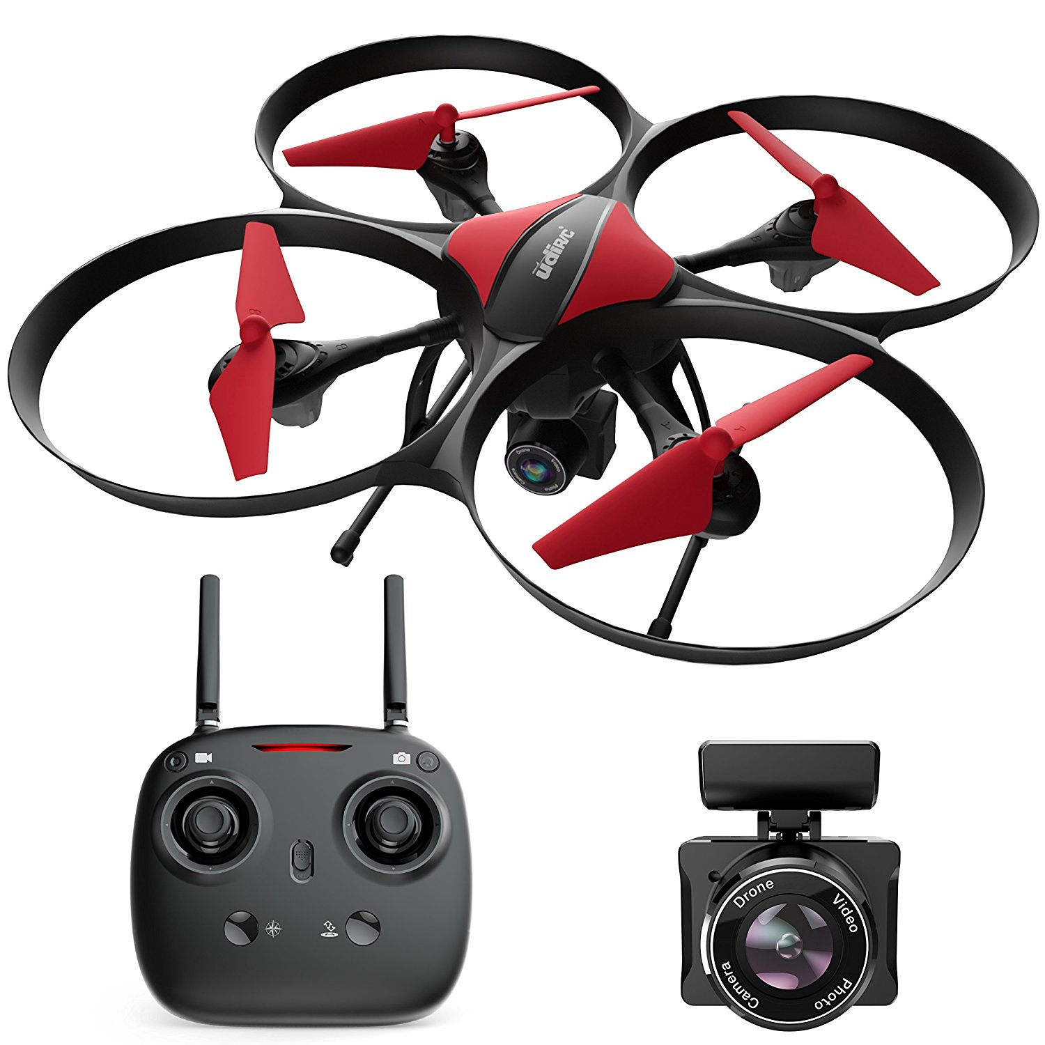 Force1 U49C Drone with Camera for Beginners � HD Beginner Drone Quadcopter w  Altitude... by UDI