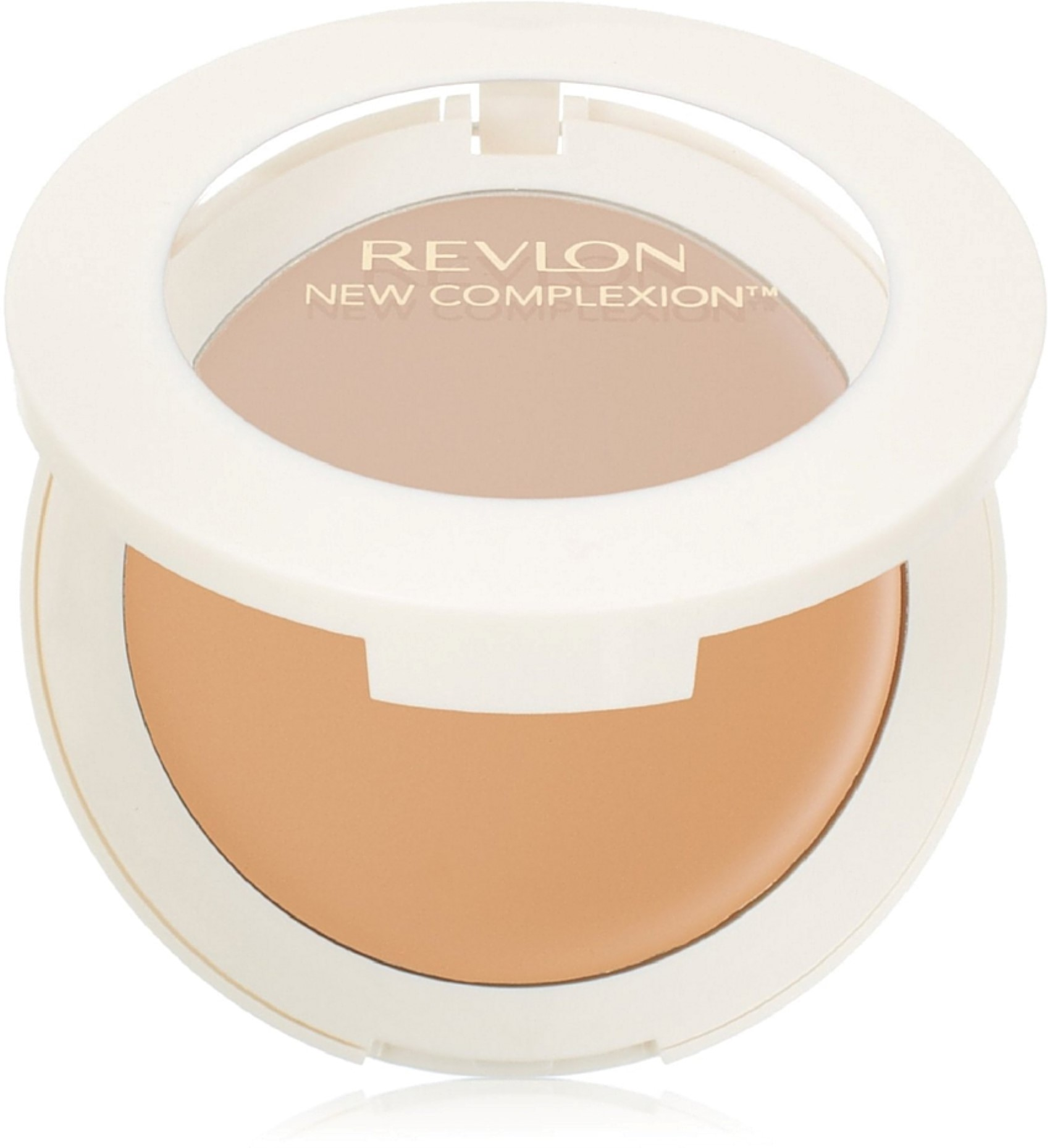 Revlon New Complexion One-Step Compact Makeup, Natural Tan [10] 0.35 oz (Pack of 3)