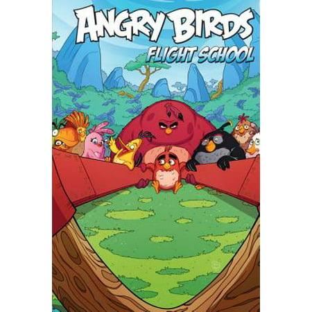 Angry Birds Comics: Flight School - Angry Birds Halloween Comic Book