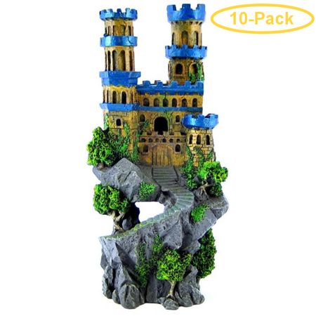 Blue Ribbon Medieval Castle 4.5L x 5W x 12H - Pack of 10 (Medieval Ribbon)