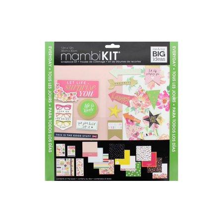 MAMBI Scrapbook Kit 12x12 Everyday - Scrapbook Supplies Online