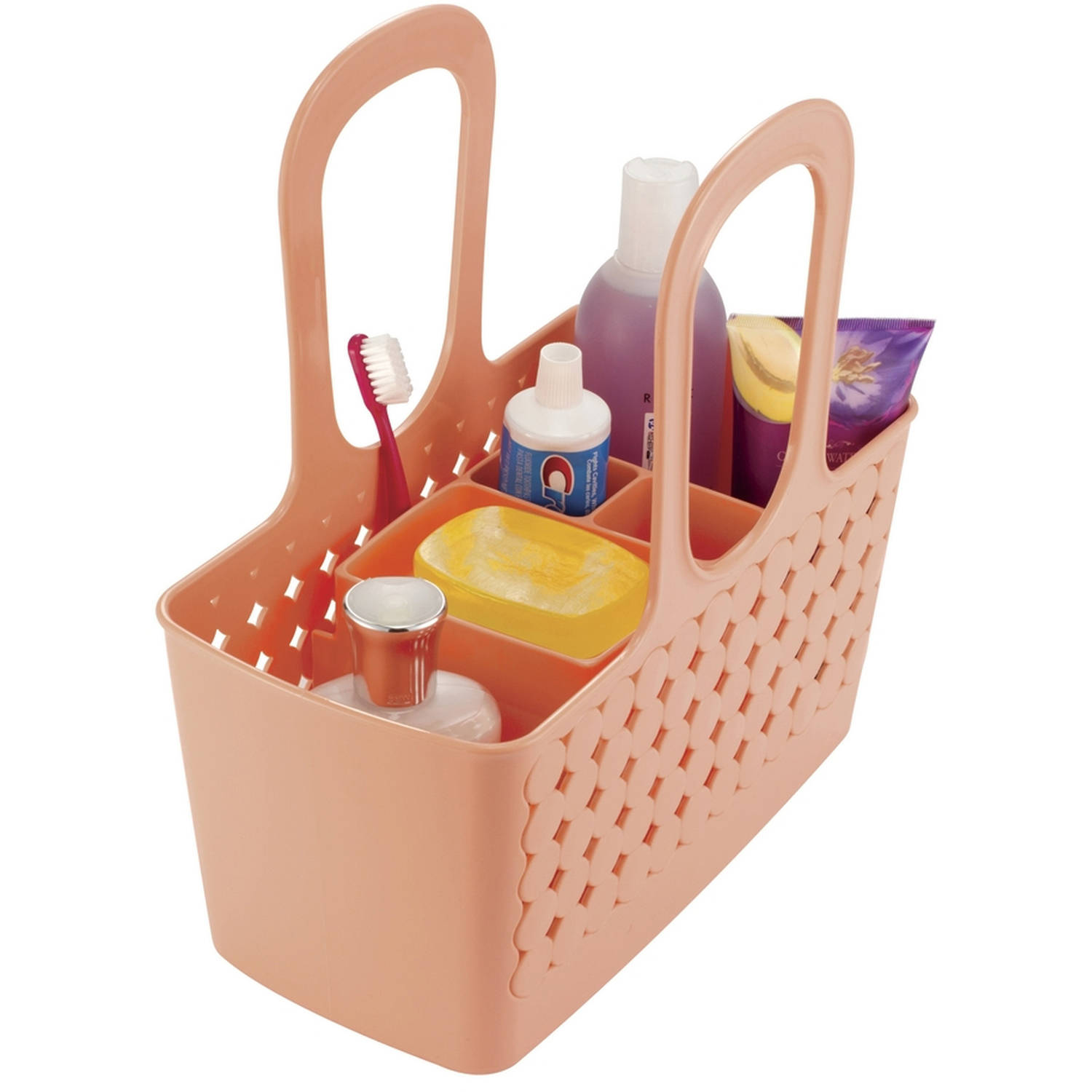 InterDesign Orbz Divided Bath Shower Tote