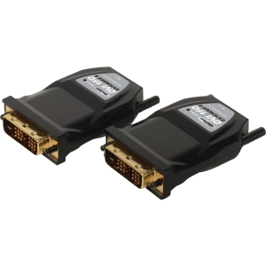 DVI EXTENDER OVER FIBER UP TO 3300FT DONGLE MODULES