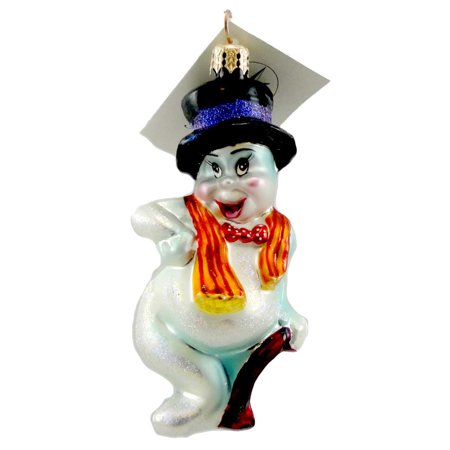 Christopher Radko FRED ASCARE Glass Ornament Halloween Ghost