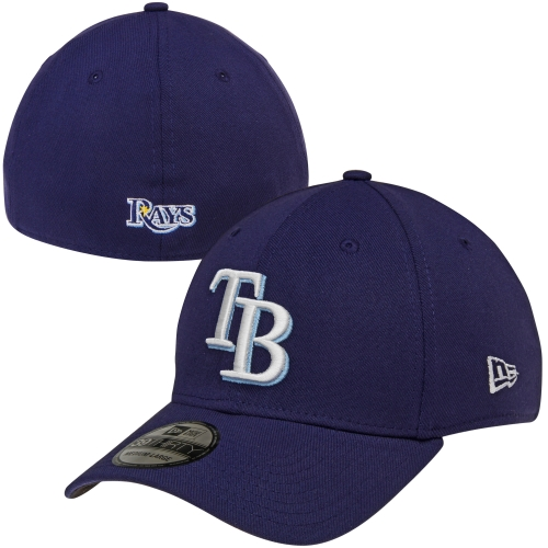 New Era Tampa Bay Rays MLB Team Classic 39THIRTY Flex Hat - Navy