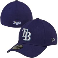 new photos 323de 54df6 Product Image New Era Tampa Bay Rays MLB Team Classic 39THIRTY Flex Hat -  Navy