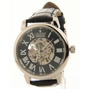 Imperial Stainless Steel Skeleton Automatic Leather Mens Watch CI331072BSSL