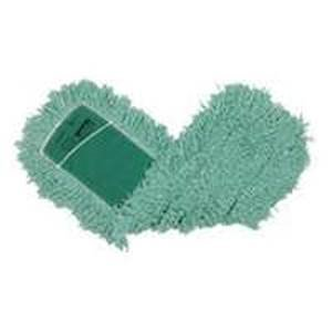Rubbermaid J55300GR00 Blend Twisted Loop Dust Mop Head, Anti-Microbial, Green