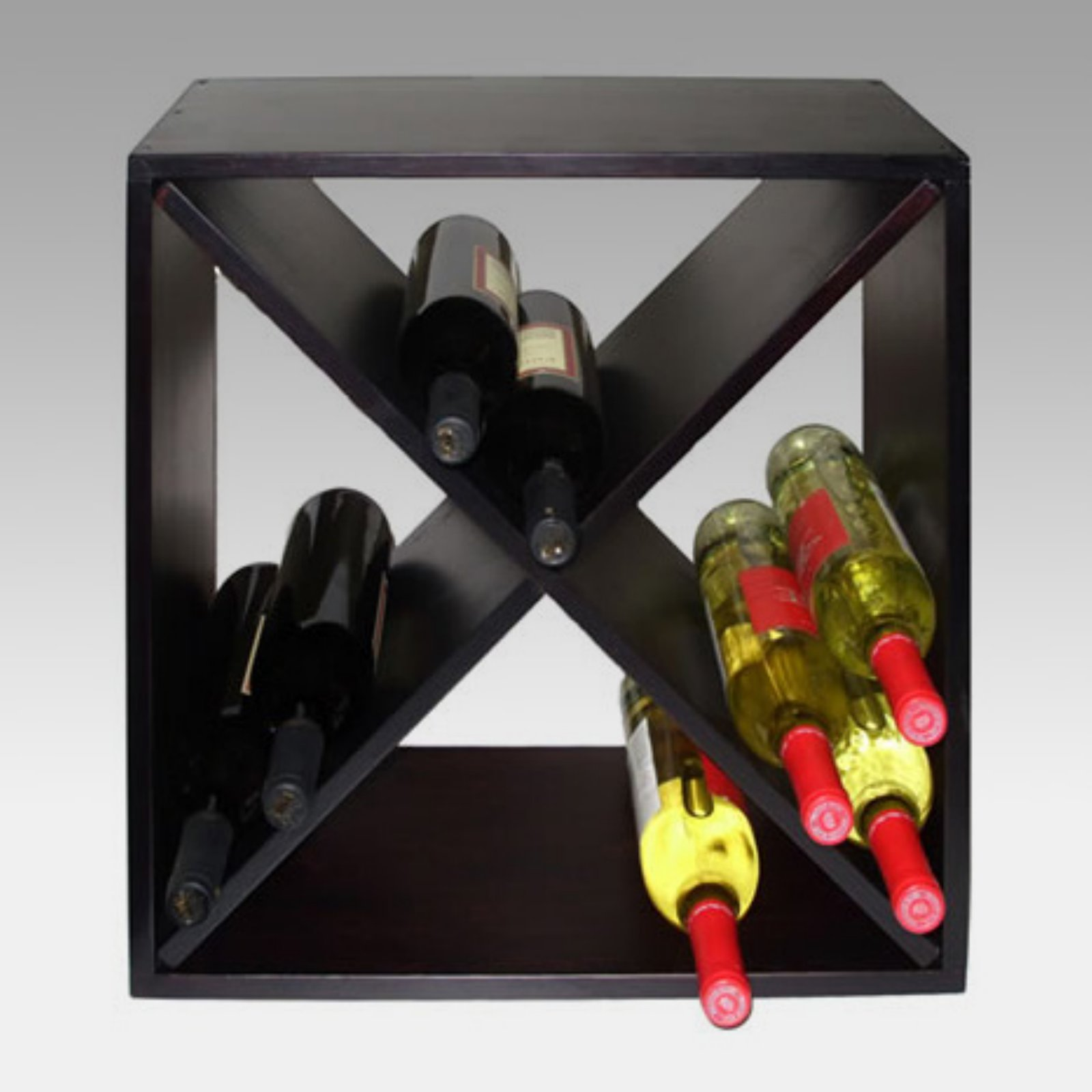 Vinotemp Diamond Bin 24-Bottle Wine Rack