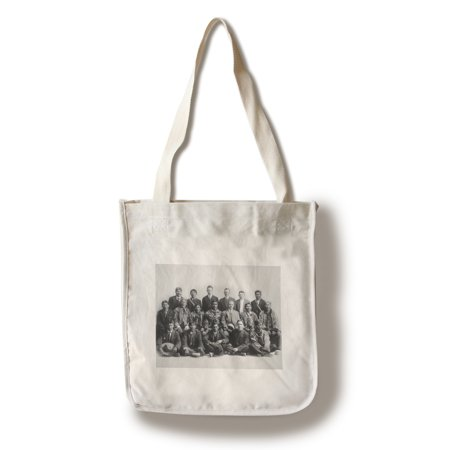 Judge Wickersham And Indian Chiefs Council Photograph  100  Cotton Tote Bag   Reusable