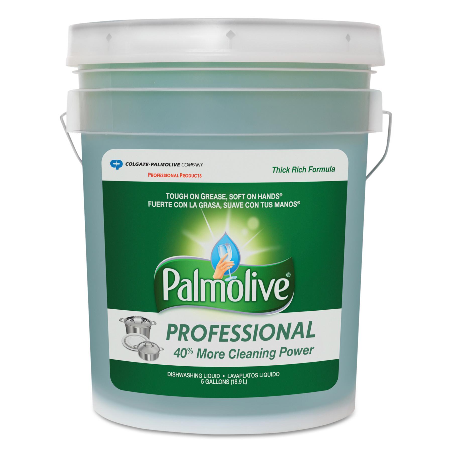 Palmolive Dishwashing Liquid, Original Scent, 5 gal Pail