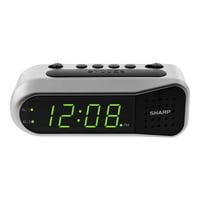 SHARP Digital Alarm Clock with Dual Alarm