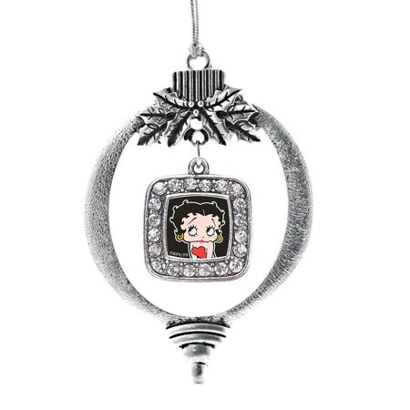 Betty Boop Classic Holiday Ornament Betty Boop Christmas Ornament