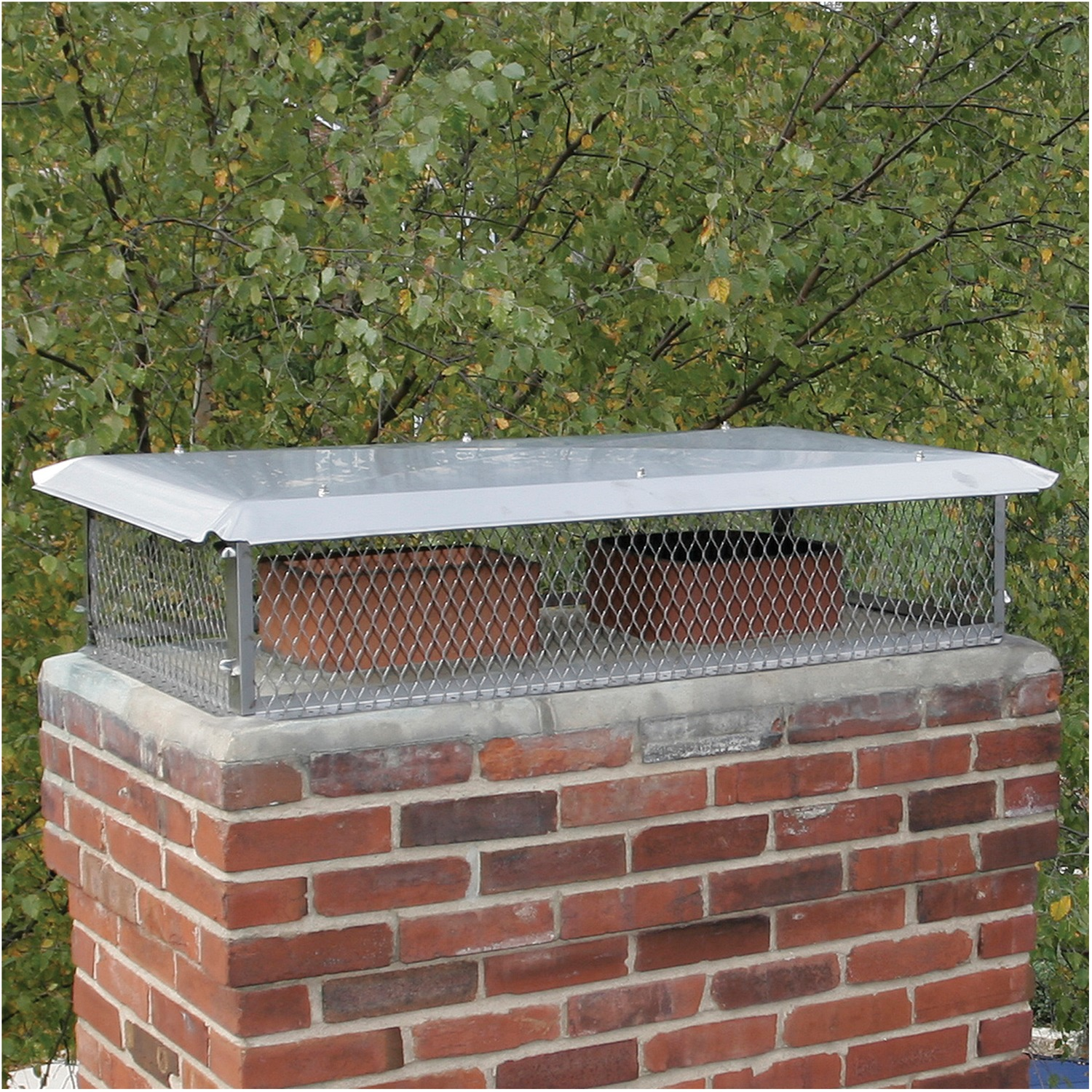 Stainless Steel  9x24 Bolt On Chimney Cap Made in USA