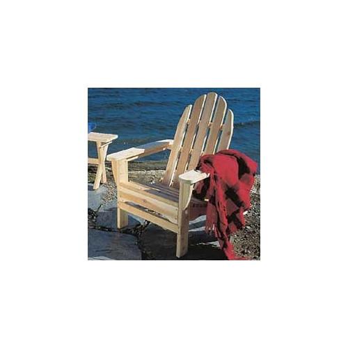 Folding Adirondack Chair Cedar Wood by Rustic Cedar