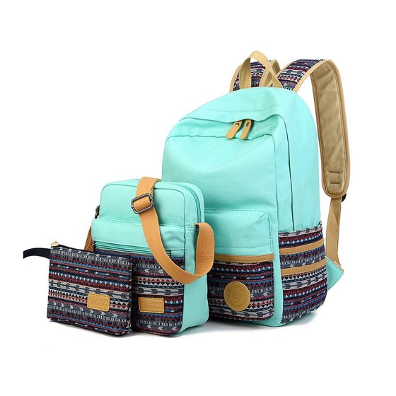 81c67c3cbb USCOCO - Leaper Casual Lightweight Canvas Laptop Bag Shoulder Bag ...