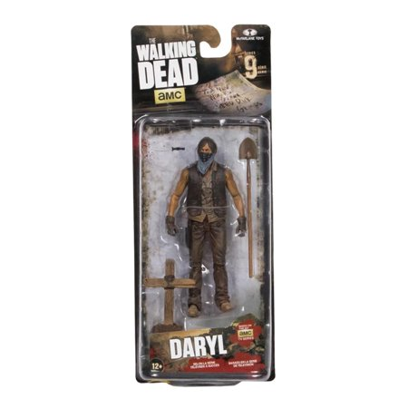 Mcf-the Walking Dead Tv Series 9 Grave Digger Daryl Dixon [dirt Version] (TMP International - Walking Dead Decorations
