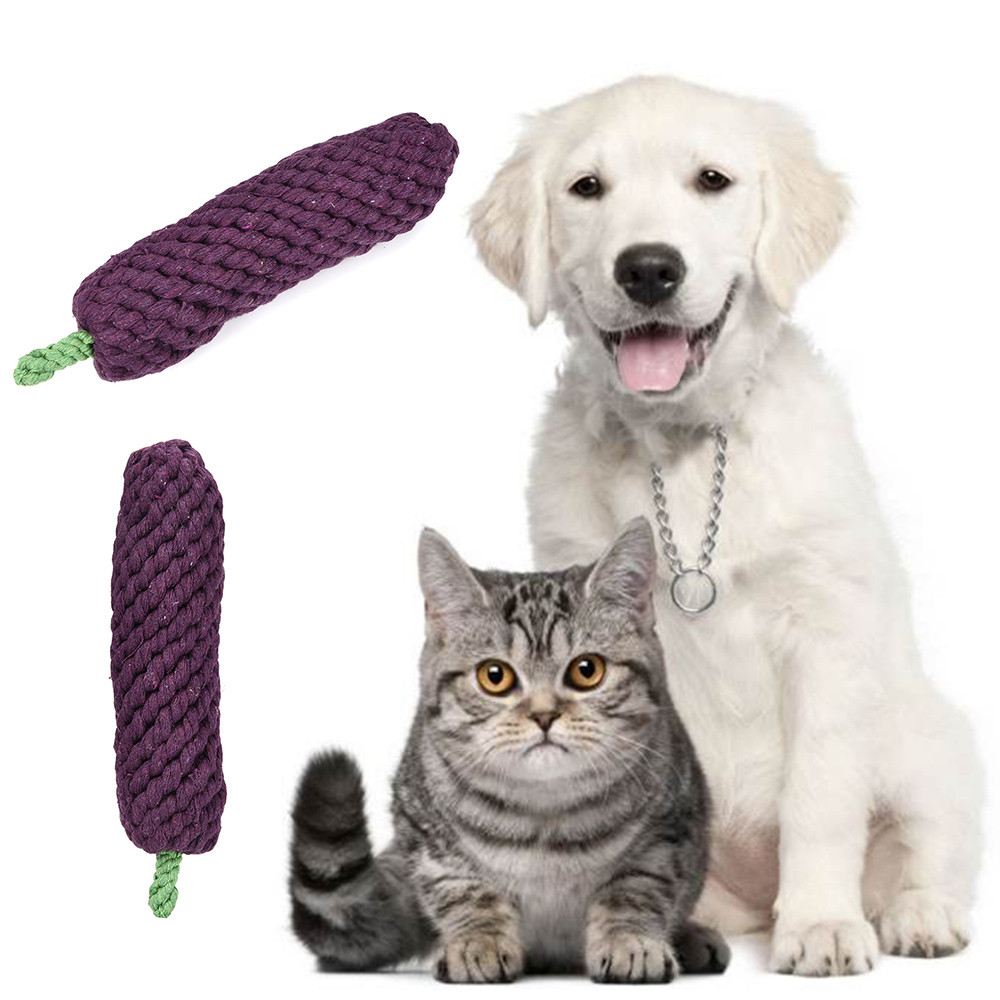 Braided Animal Toy Pet Chew Toy Puppy Dog Clean Teeth Training Tool