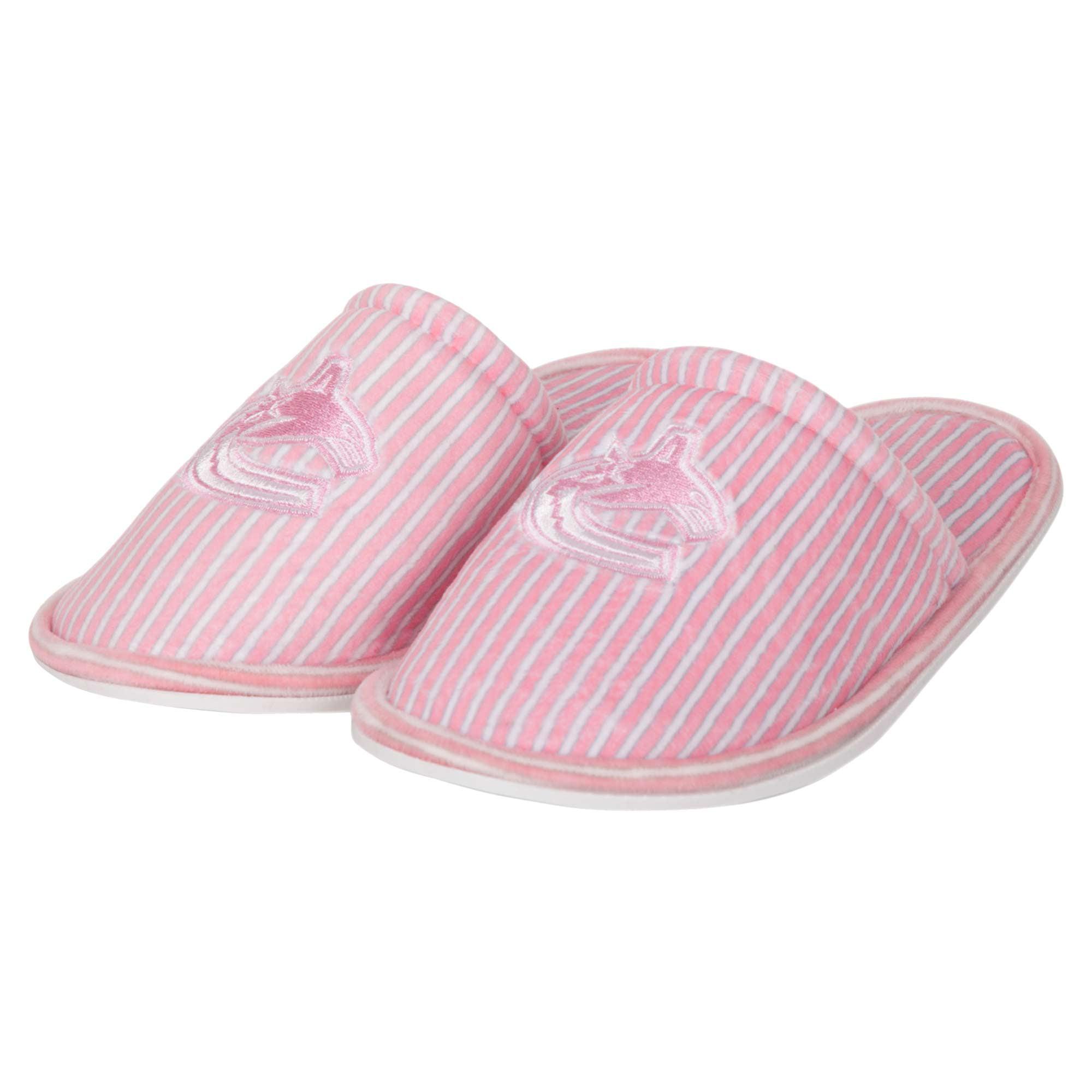 Vancouver Canucks Women's Slide Slipper - Pink