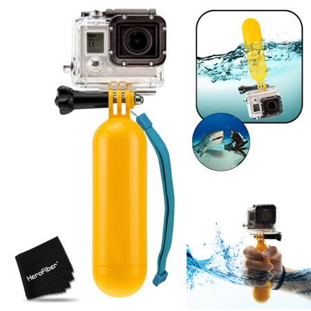 Xtech® Underwater Floating BOBBER Handle for GoPro HERO+, HERO5, HERO4 Hero 4, GoPro HERO3 Hero 3, GoPro Hero3+, GoPro Hero2, and All GoPro HERO