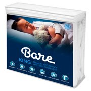 Premium Waterproof Hypoallergenic Mattress Protector by Bare Home