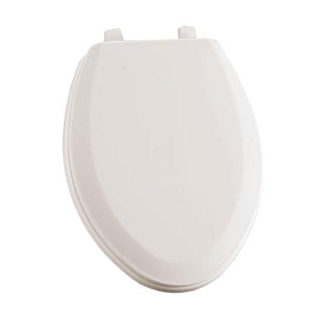 Sedona Beige Elongated Toilet Seat - Bemis 1190 Connor Elongated Closed-Front Toilet Seat with Cover and TOP-TITE? Hinges
