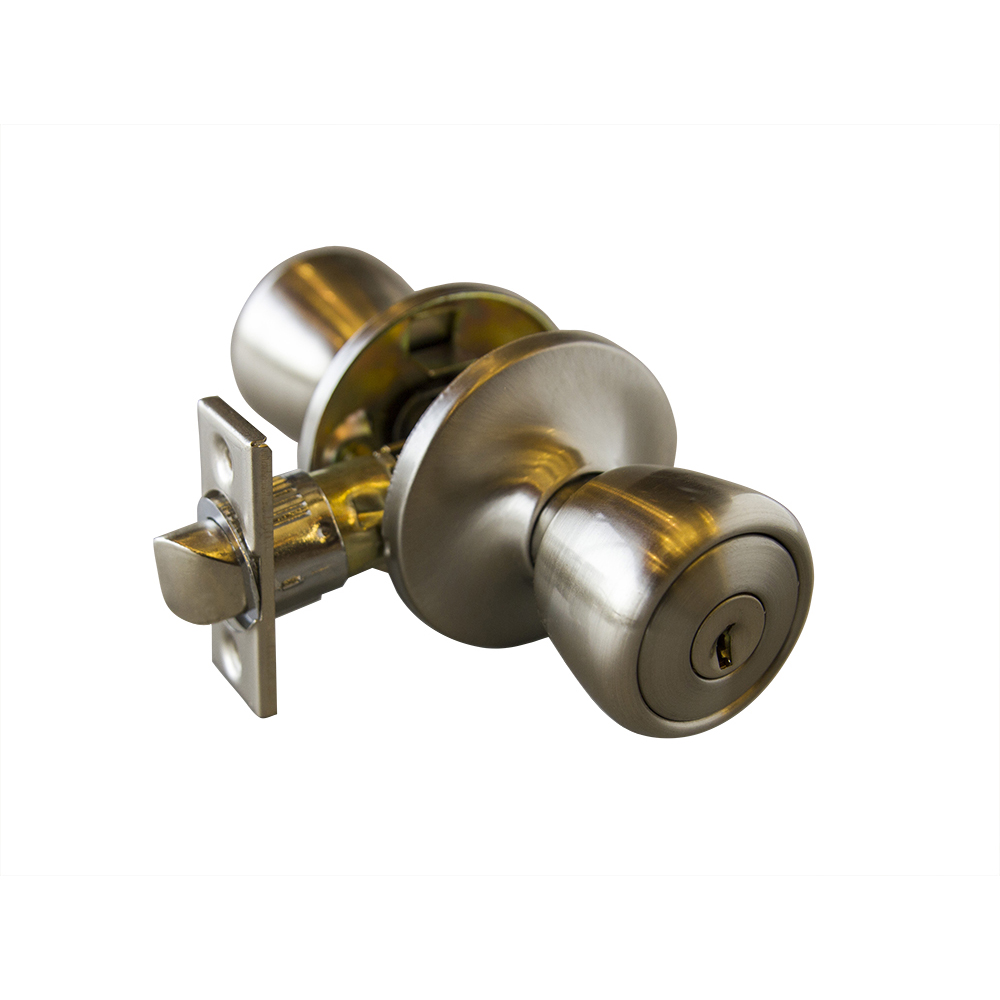 Design House 728394 Terrace 6 Way Universal Entry Door Knob, Satin Nickel