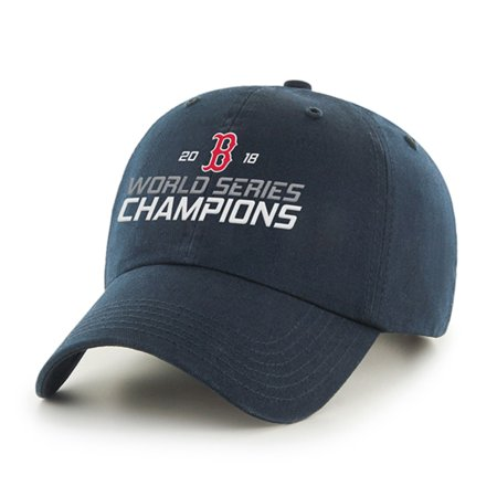 Fan Favorite MLB World Series Champions Clean Up Hat, Boston Red Sox