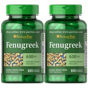 Puritan's Pride Fenugreek 610 mg 100 caps (2 PACK)