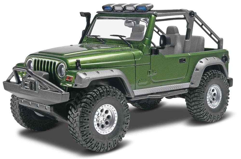 Jeep Wrangler Rubicon Plastic Model Kit, Wind New COLLECTION New 47 04 JEEP WRANGLER... by