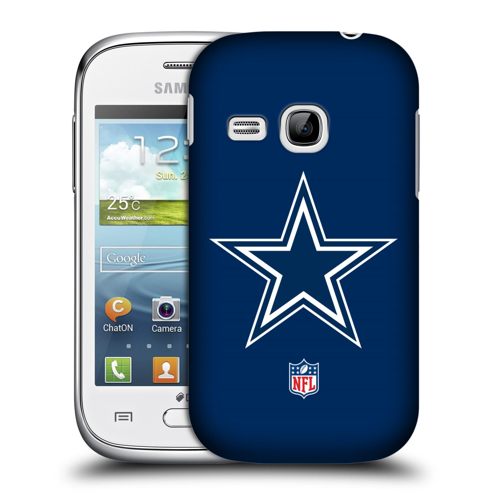 OFFICIAL NFL DALLAS COWBOYS LOGO HARD BACK CASE FOR SAMSUNG PHONES 5