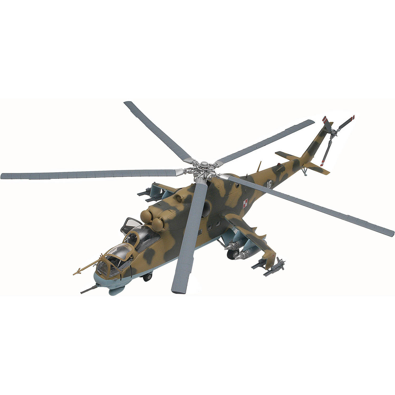 1 48 MiL-24 Hind Helicopter Plastic Model Kit by Revell