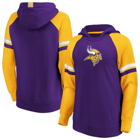 Minnesota Vikings Fanatics Branded Women's Best In Stock Pullover Hoodie -