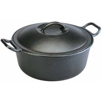 Deals on Lodge 4 Quart Seasoned Cast Iron Dutch Oven