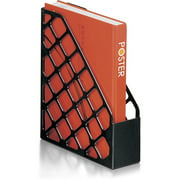 Officemate Recycled Magazine File, Black (26082)