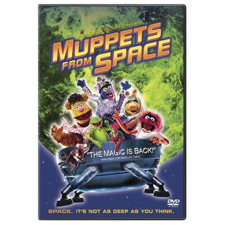 Muppets From Space (DVD)](Muppets Halloween Dvd)