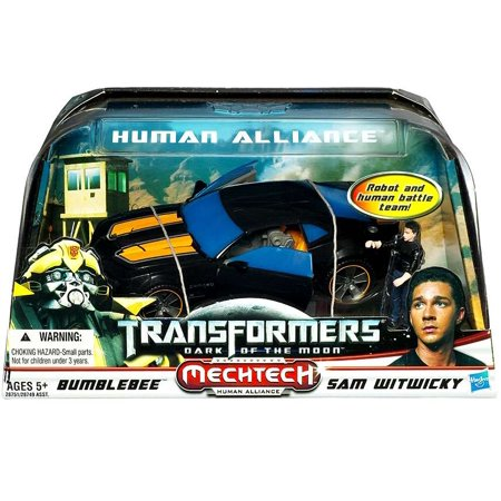 Transformers MV3 Dark of the Moon MechTech Human Alliance, Sam Witwicky and